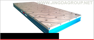 Cast Iron T Slotted Surface Plate